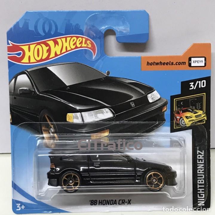 HONDA CR-X 1988 HOT WHEELS 1//64