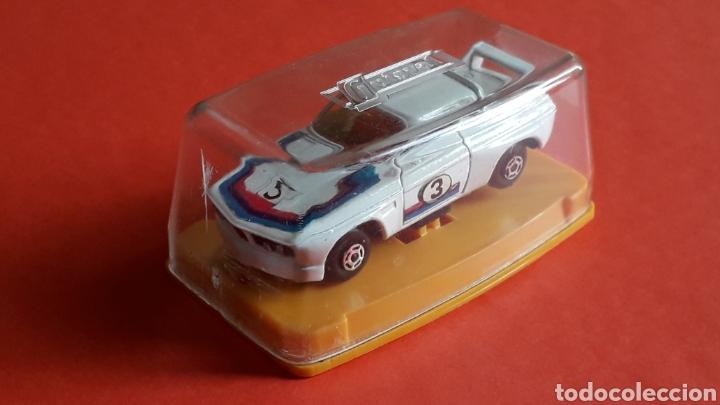 Coches a escala: BMW 3.3 CSL ref. 29, metal esc. aprox. 1/64, Guisval Ibi Spain, Campeón, año 1976. Caja y catalogo. - Foto 2 - 167730724