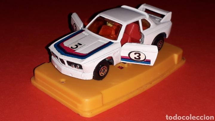 Coches a escala: BMW 3.3 CSL ref. 29, metal esc. aprox. 1/64, Guisval Ibi Spain, Campeón, año 1976. Caja y catalogo. - Foto 4 - 167730724