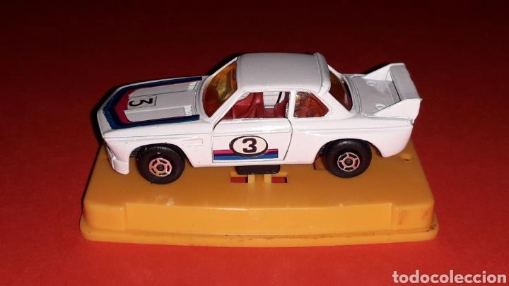 Coches a escala: BMW 3.3 CSL ref. 29, metal esc. aprox. 1/64, Guisval Ibi Spain, Campeón, año 1976. Caja y catalogo. - Foto 5 - 167730724