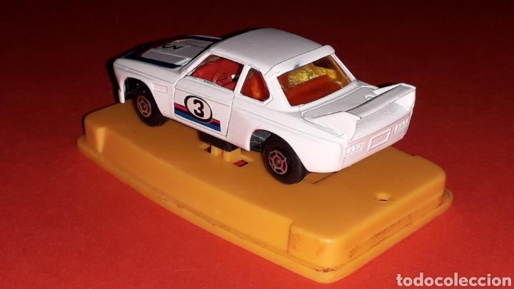 Coches a escala: BMW 3.3 CSL ref. 29, metal esc. aprox. 1/64, Guisval Ibi Spain, Campeón, año 1976. Caja y catalogo. - Foto 6 - 167730724
