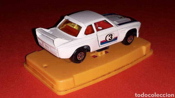 Coches a escala: BMW 3.3 CSL ref. 29, metal esc. aprox. 1/64, Guisval Ibi Spain, Campeón, año 1976. Caja y catalogo. - Foto 7 - 167730724