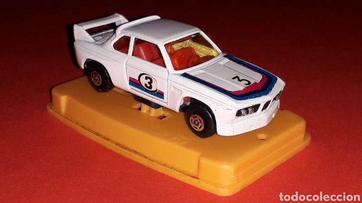 Coches a escala: BMW 3.3 CSL ref. 29, metal esc. aprox. 1/64, Guisval Ibi Spain, Campeón, año 1976. Caja y catalogo. - Foto 9 - 167730724