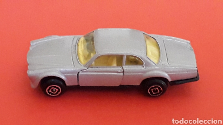 Coches a escala: Jaguar XJ-12 ref. 10, metal esc. aprox. 1/64, Guisval Ibi Spain, serie Campeón, años 80. - Foto 3 - 167755468