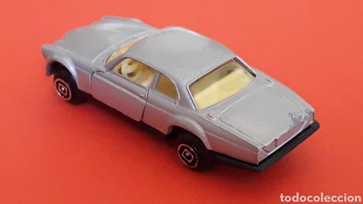 Coches a escala: Jaguar XJ-12 ref. 10, metal esc. aprox. 1/64, Guisval Ibi Spain, serie Campeón, años 80. - Foto 4 - 167755468