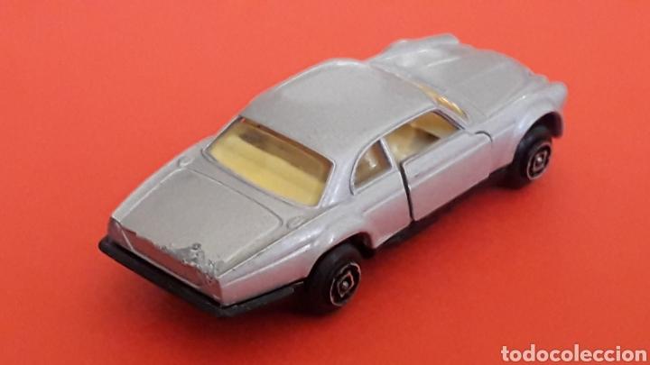 Coches a escala: Jaguar XJ-12 ref. 10, metal esc. aprox. 1/64, Guisval Ibi Spain, serie Campeón, años 80. - Foto 5 - 167755468
