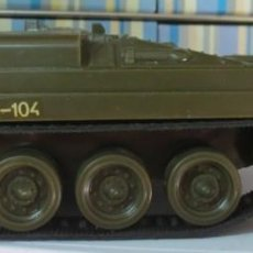 Coches a escala: TANQUE MILITAR TAMIYA PLASTIC MADE IN JAPAN 1970 15 CM. LARGO. Lote 167964324
