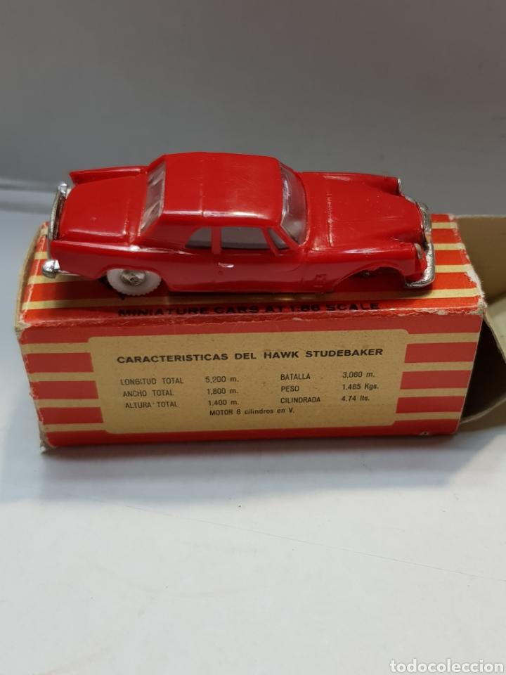 Coches a escala: Coche Hawk Studebaker de Anguplas Mini cars en caja original - Foto 2 - 168247893