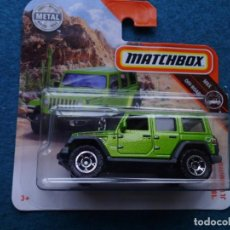 Coches a escala: MATCHBOX DIECAST 1/64 18 JEEP WRANGLER JL UNLIMITED. Lote 168429236