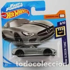 Model Cars - HOT WHEELS 2019 '15 MERCEDES-AMG GT FAST AND FURIOUS (H018) - 168873416