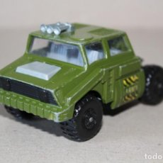 Coches a escala: MATCHBOX BATTLE KINGS: TANQUE TRANSPORTE - LESNEY PRODUCT 1974. MADE IN ENGLAND. Lote 169438796