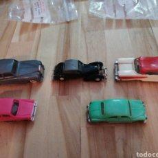 Coches a escala: LOTE 14 MINI CARS ANGUPLAS Y 3 CATALOGOS DIFERENTES. Lote 126685600