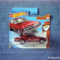 Coches a escala: COCHE HOT WHEELS 67 CHEVELLE SS 396 MUSCLE MANIA. Lote 170098108