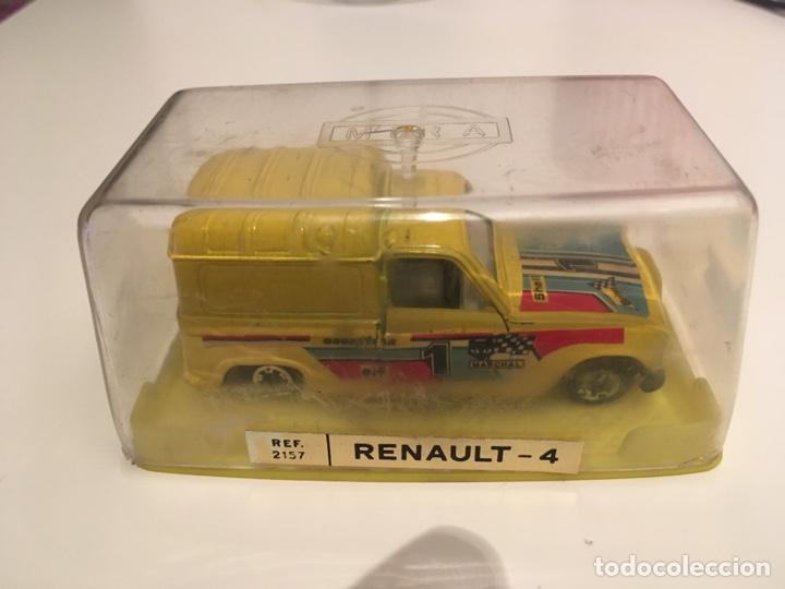 Coches a escala: Renault 4 Ref.2157, Marca Mira, Escala 1:64.Nuevo con caja - Foto 3 - 170239004