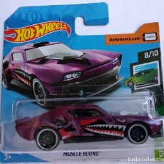 Coches a escala: HOT WHEELS MUSCLE BOUND. SPEED BLUR 8/10. Lote 170480322