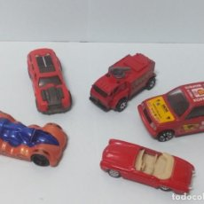Coches a escala: LOTE 5 COCHES METAL VINTAGE JUGUETE MAJORETTE ? HOT WHEELS. Lote 170986822