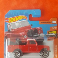 Coches a escala: HOT WHEELS LAND ROVER SERIES III PICKUP. Lote 218697740
