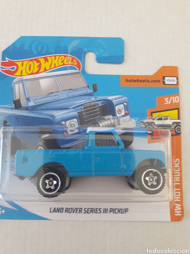 HOT WHEELS LAND ROVER SERIES III PICKUP (Juguetes - Coches a Escala Otras Escalas )