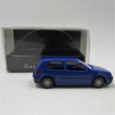 Coches a escala: WIKING VW GOLF IV 2P 1997-2003 (GENERATION GOLF) AZUL. ESCALA 1/87 H0 (2912). Lote 171199100
