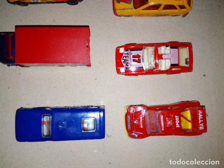 Coches a escala: MAJORETTE - LOTE 6 COCHES, CAMIÓN y AUTOBUS - MODELOS RAROS 90s - Foto 2 - 171238494