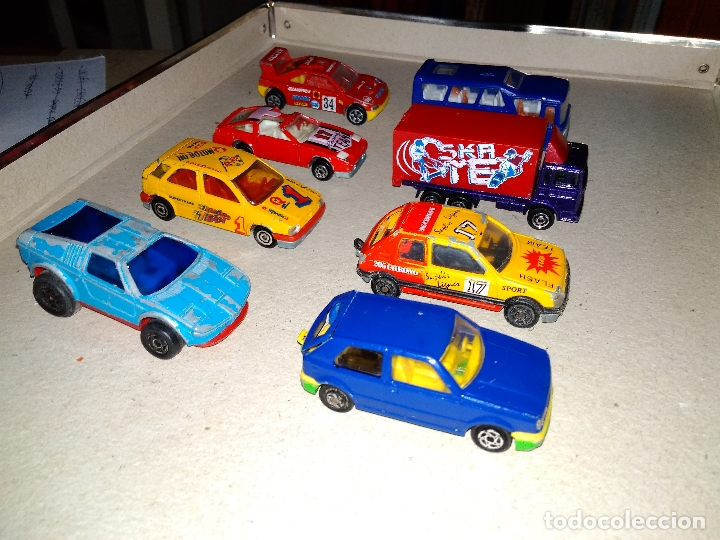 Coches a escala: MAJORETTE - LOTE 6 COCHES, CAMIÓN y AUTOBUS - MODELOS RAROS 90s - Foto 4 - 171238494