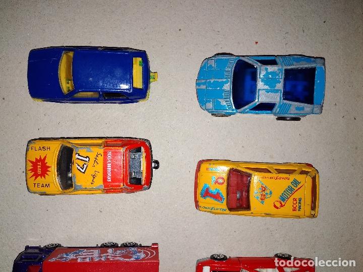 Coches a escala: MAJORETTE - LOTE 6 COCHES, CAMIÓN y AUTOBUS - MODELOS RAROS 90s - Foto 3 - 171238494