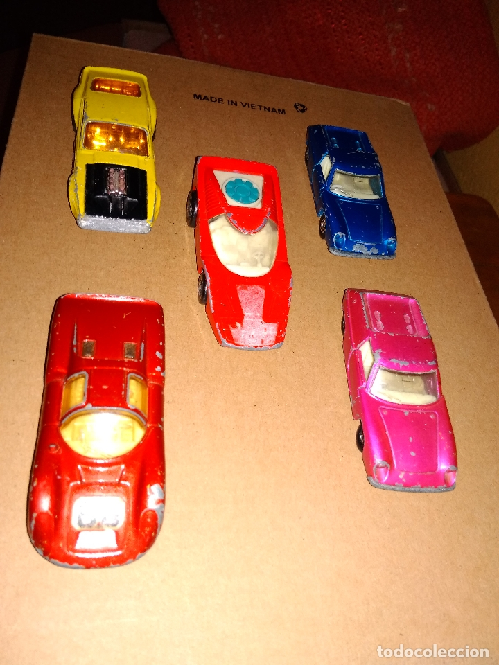 Coches a escala: MATCHBOX - LOTE 5 COCHES SUPERFAST 70s DIE-CAST 1:64 3 INCHES - Foto 3 - 171239152