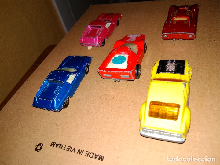 Coches a escala: MATCHBOX - LOTE 5 COCHES SUPERFAST 70s DIE-CAST 1:64 3 INCHES - Foto 4 - 171239152