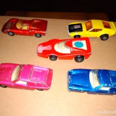 Coches a escala: MATCHBOX - LOTE 5 COCHES SUPERFAST 70S DIE-CAST 1:64 3 INCHES. Lote 171239152