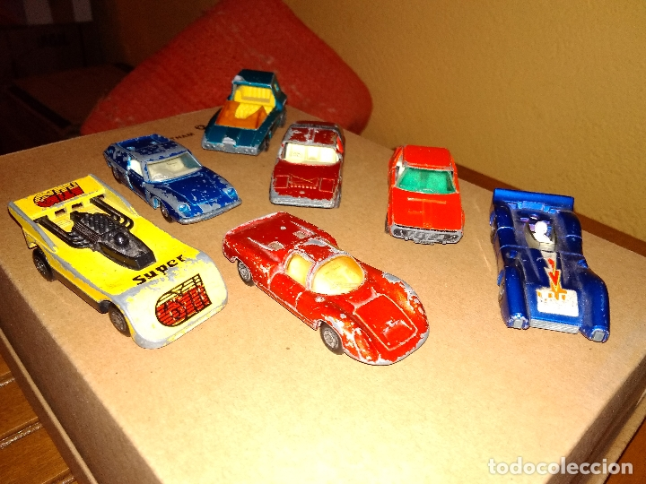 Coches a escala: MATCHBOX - LOTE 7x COCHES SUPERFAST 70s 80s DIE-CAST 1:64 3 INCHES - Foto 3 - 171239402