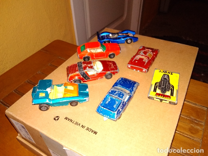 Coches a escala: MATCHBOX - LOTE 7x COCHES SUPERFAST 70s 80s DIE-CAST 1:64 3 INCHES - Foto 4 - 171239402