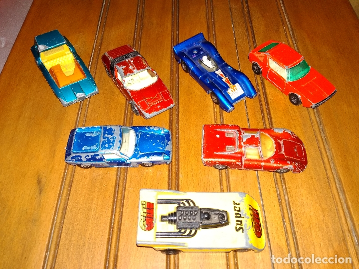 Coches a escala: MATCHBOX - LOTE 7x COCHES SUPERFAST 70s 80s DIE-CAST 1:64 3 INCHES - Foto 5 - 171239402