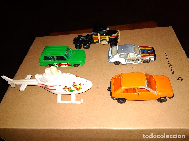 Coches a escala: GUISVAL MIRA GUILOY AVC - LOTE DESGUACE 5 VEHÍCULOS COCHES DIE-CAST 1:64 3 INCHES - Foto 2 - 171239544
