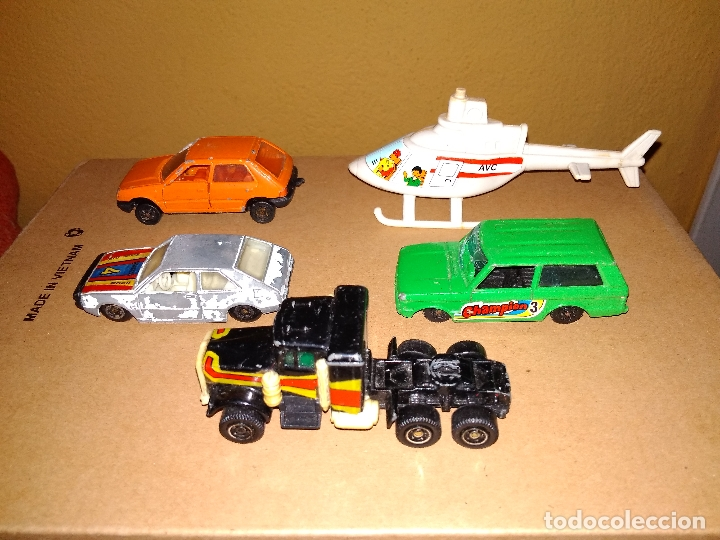 Coches a escala: GUISVAL MIRA GUILOY AVC - LOTE DESGUACE 5 VEHÍCULOS COCHES DIE-CAST 1:64 3 INCHES - Foto 3 - 171239544