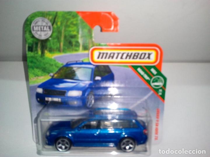 MATCHBOX -AUDI RS6 AVANT 2002 -AZUL (Juguetes - Coches a Escala Otras Escalas )