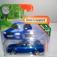 Coches a escala: MATCHBOX -AUDI RS6 AVANT 2002 -AZUL. Lote 171247584