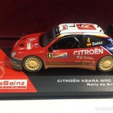 Coches a escala: COCHE ESCALA CITRÖEN XSARA WRC 2004. Lote 171484558