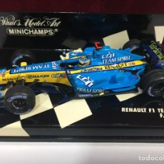 Coches a escala: COCHE ESCALA RENAULT FI TEAM R26 F.ALONSO 2006. Lote 171520214