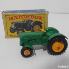 Coches a escala: COCHE MATCHBOX TRACTOR Nº 50 CAJA ORIGINAL LESNEY MADE IN ENGLAND. . Lote 171626949