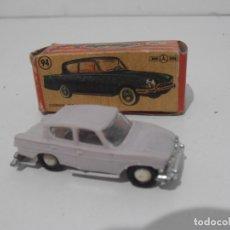 Coches a escala: COCHE MINI CARS, CONSUL 315 Nº 94, CAJA ORIGINAL, ANGUPLAS, DIVISION TURISMO SERIE GB. Lote 171633222