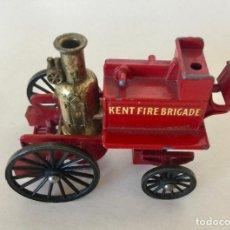 Coches a escala: LESNEY MATCHBOX NO:4 KENT FIRE BRIGADE BOMBEROS - ROJO - SOLO CARRO - VINTAGE 1968 ENGLAND. Lote 171698905