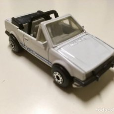 Coches a escala: FORD ESCORT CABRIO. MATCHBOX. ESCALA 1/58. Lote 171928584