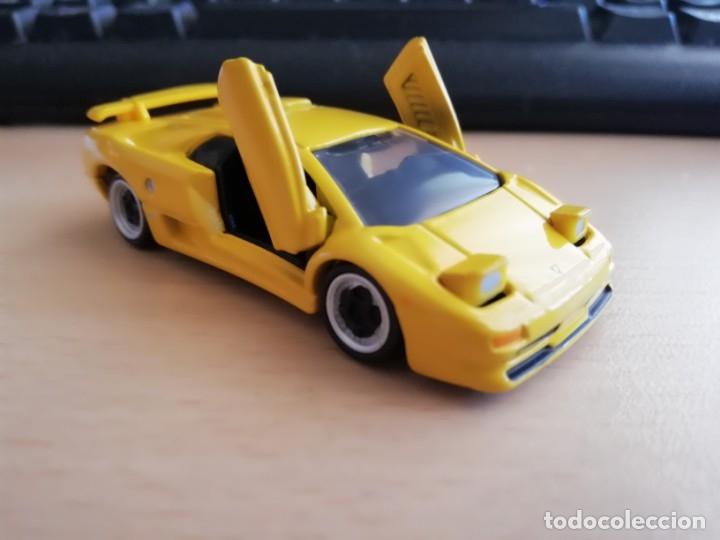 Tomica Premium Lamborghini Diablo Sv Nº 15 Faros Y Puertas Abatibles Nuevo En Caja Sellada