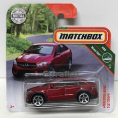 Coches a escala: MATCHBOX MERCEDES BENZ GLE COUPE, TIPO HOT WHEELS 1:64. Lote 172382960