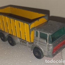 Coches a escala: COCHE CAMION MATCHBOX LESNEY NO. 47 TIPPER CONTAINER TRUCK. Lote 172452899