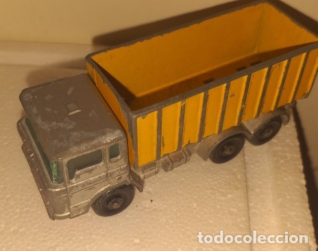 Coches a escala: Coche Camion Matchbox Lesney No. 47 Tipper Container Truck - Foto 2 - 172452899