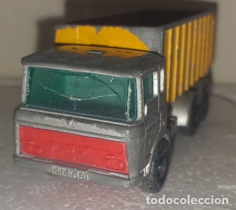 Coches a escala: Coche Camion Matchbox Lesney No. 47 Tipper Container Truck - Foto 3 - 172452899