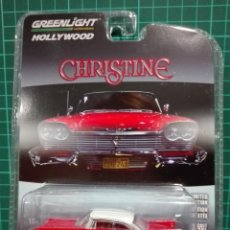 Coches a escala: PLYMOUTH FURY - CHRISTINE (1958) GREENLIGHT 1/64. Lote 194288500