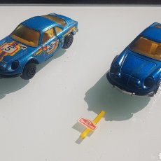 Coches a escala: LOTE RENAULT ALPINE GUISVAL 1/64. Lote 174432398
