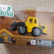 Coches a escala: EXCAVADORA CONSTRUCTION MACHINE ANTIGUO. Lote 174496064